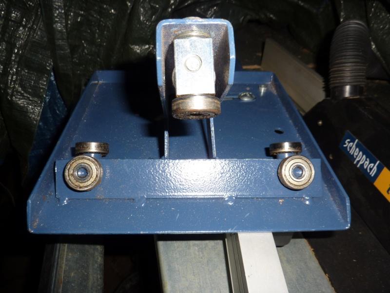 Photos detaillées du bras articulé/chariot/guide parallèle de ma scie circulaire kity 415 P1010515