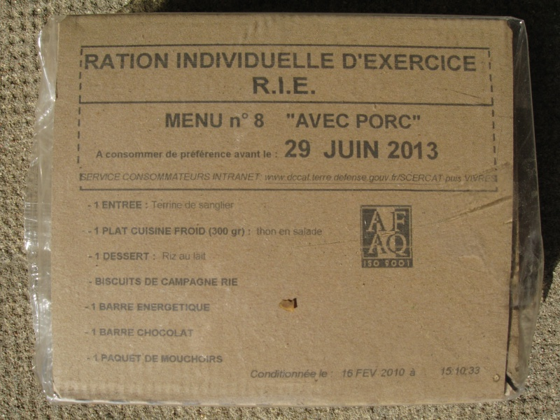 """Ration militaire """"homemade"""" 72851110"""