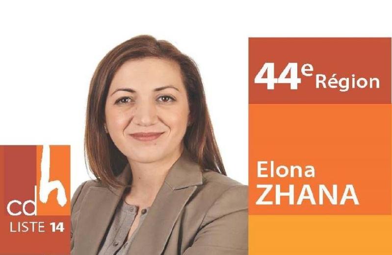 Një zë shqiptar, në politikën Belge 11110