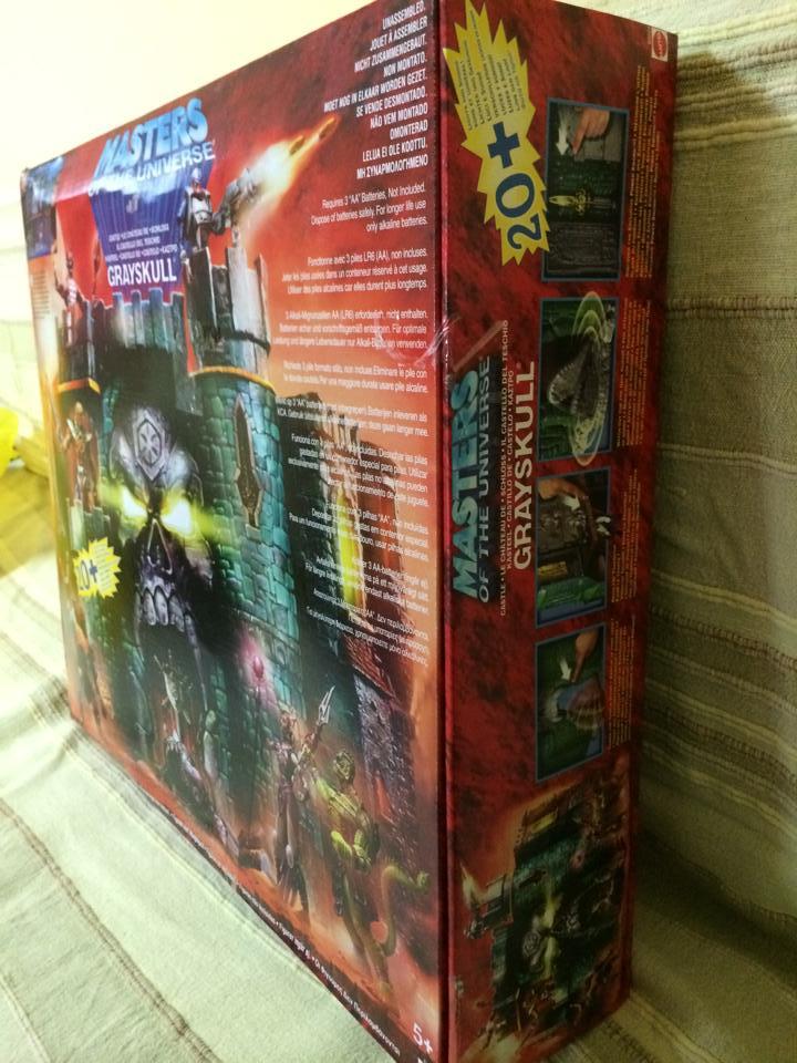 Masters of The Universe Castello di Grayskull fondo di magazzino !Vendo 10107210
