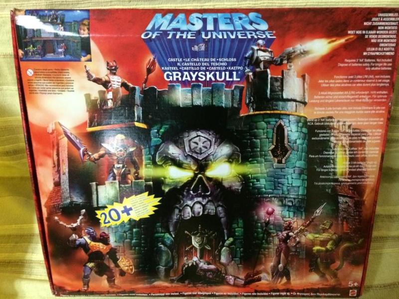 Masters of The Universe Castello di Grayskull fondo di magazzino !Vendo 10154111