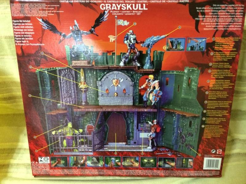 Masters of The Universe Castello di Grayskull fondo di magazzino !Vendo 10155611