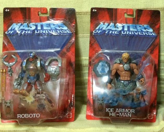 Masters Of The Universe x200 He Man Ice Armor e Roboto Fondi di magazzino 10290710