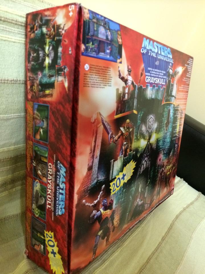 Masters of The Universe Castello di Grayskull fondo di magazzino !Vendo 10339610