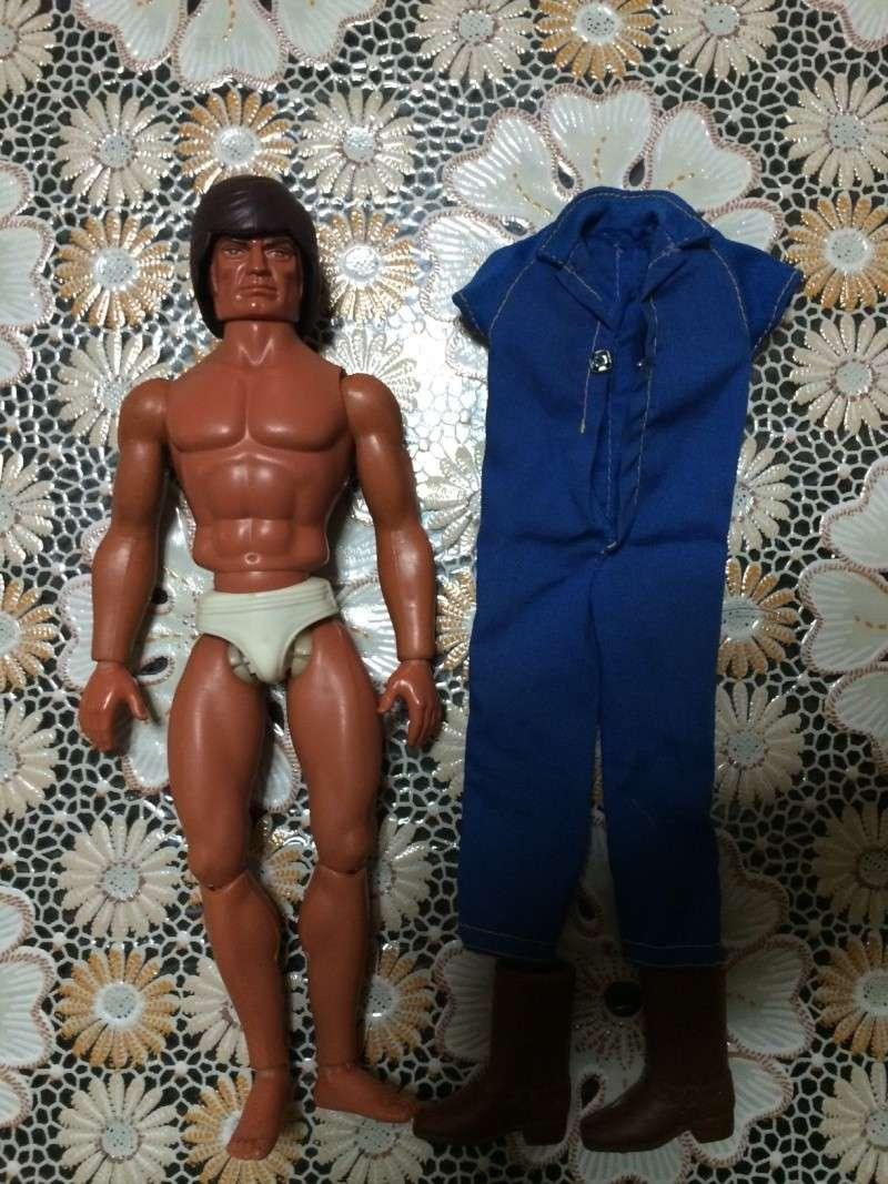 Big Jim Double Trouble Action Figure Mattel Anni 70 Vintage Toys Rare Foto_211