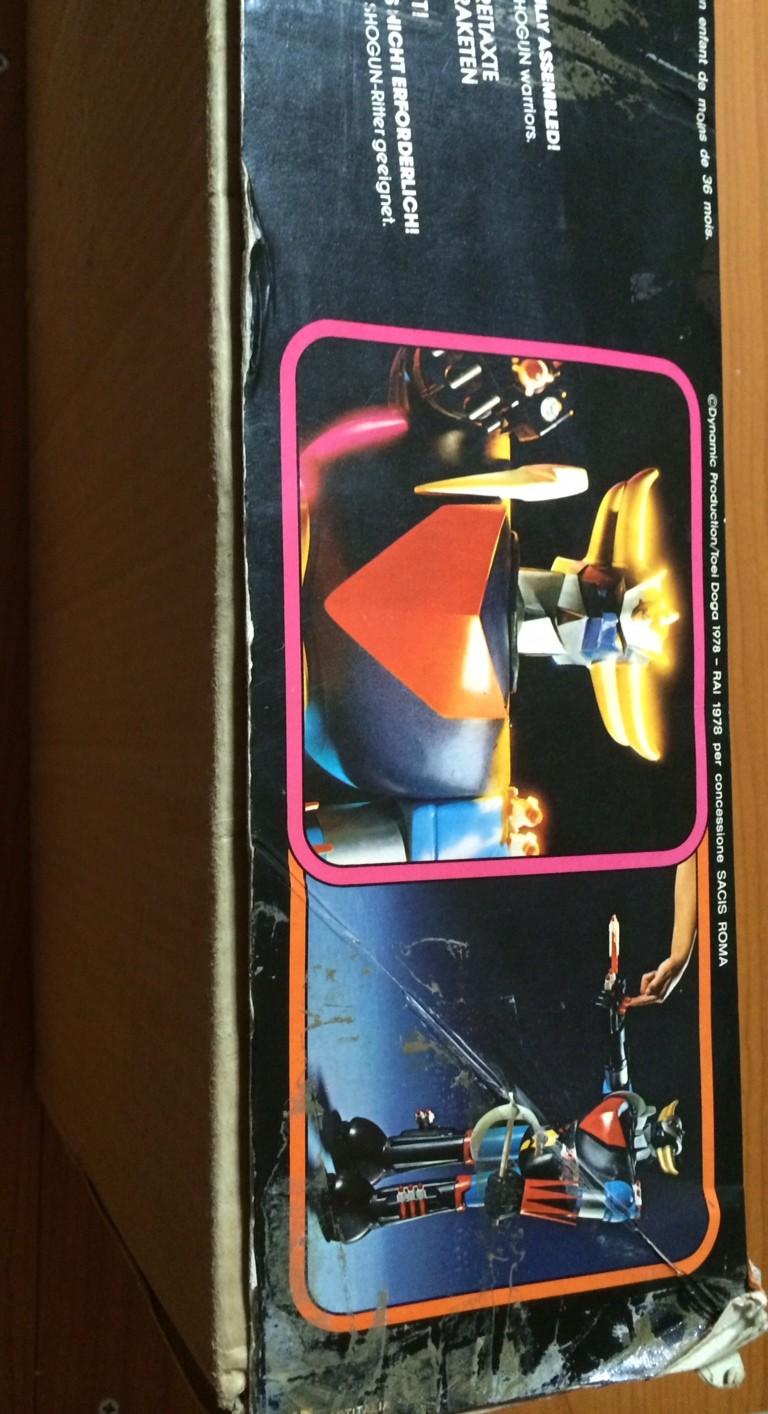 Goldrake Goldorak Grendizer Atlas Ufo Robot shogun cm 60 Toys Vintage anni 70 80 Foto_422