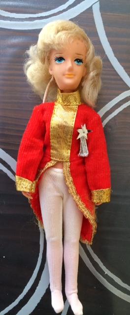 Lady Oscar/Rose Versailles bambola (doll) Ceppi Ratti cm 21 divisa rossa rara Foto_424