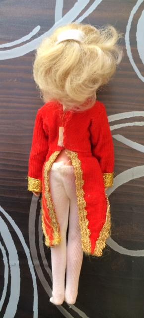 Lady Oscar/Rose Versailles bambola (doll) Ceppi Ratti cm 21 divisa rossa rara Foto_518