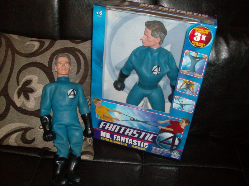 Fantastic Four Movie Super Stretch Mr. fantastici 4 allungabile Toy biz nuovo + regalo uni loose Hpim4010