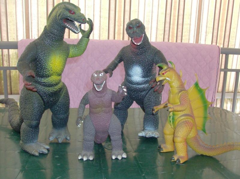 Godzilla o Gozzilla Lottone ! loose PREZZO SPEDITO !!! Hpim5013