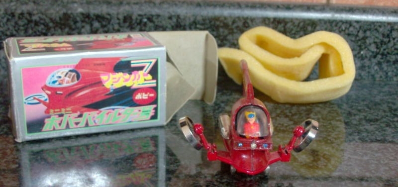 HOVER PILDER DX POPY PA-05 - NEAR MINT IN BOX - Originale Japan Vintage !! Hpim5114
