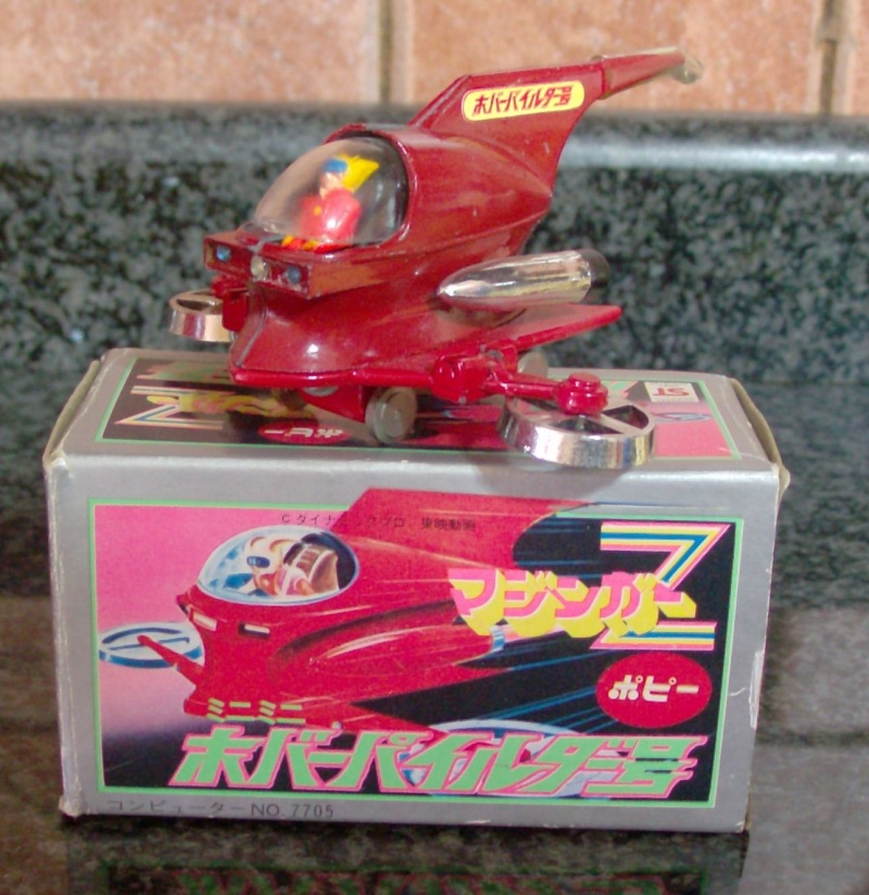 HOVER PILDER DX POPY PA-05 - NEAR MINT IN BOX - Originale Japan Vintage !! Hpim5116