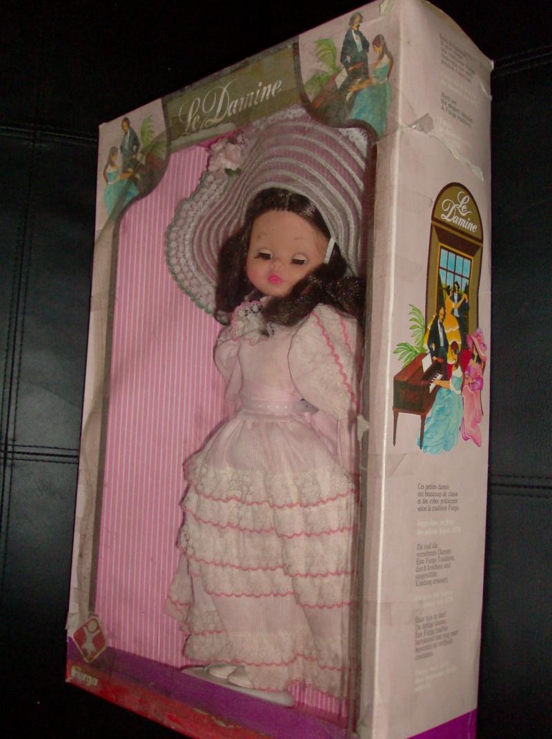 Bambole FURGA Isabella e l'arpa, e Lady Dasy anno 1978 Hpim5222