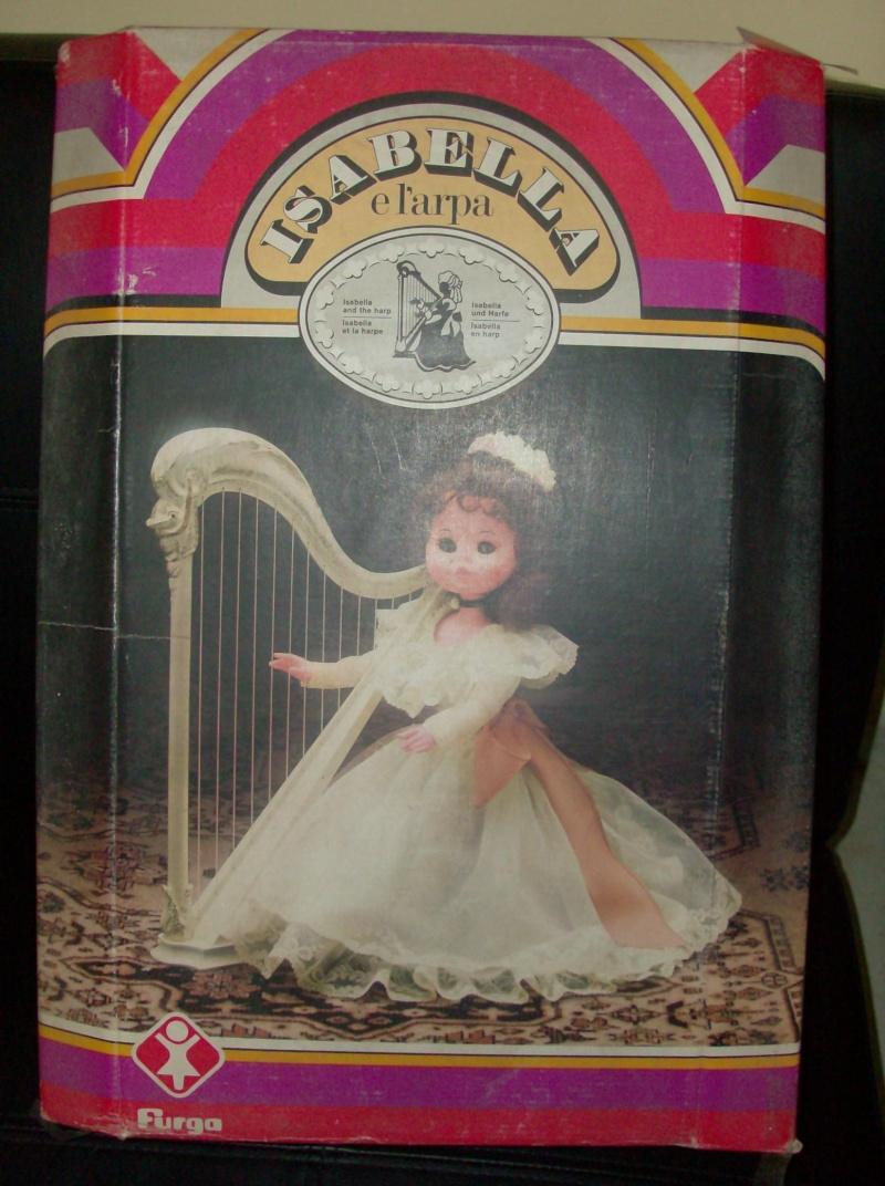 Bambole FURGA Isabella e l'arpa, e Lady Dasy anno 1978 Hpim5223