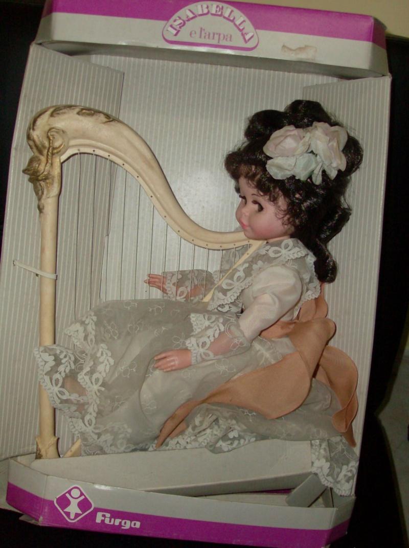 Bambole FURGA Isabella e l'arpa, e Lady Dasy anno 1978 Hpim5224