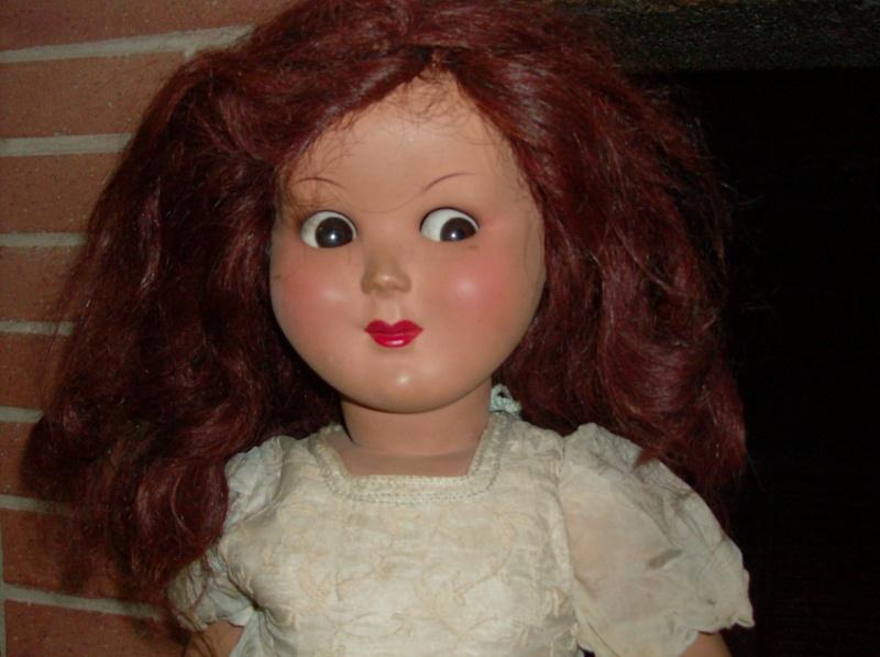 Bambola Bambole Doll Poupee anni 30 40 50 Hpim5227