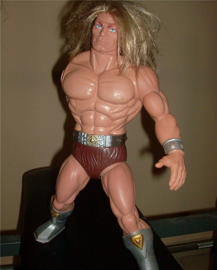 Masters Of The Universe Tytus no Megator Motu Mattel anni 80 loose Hpim5741