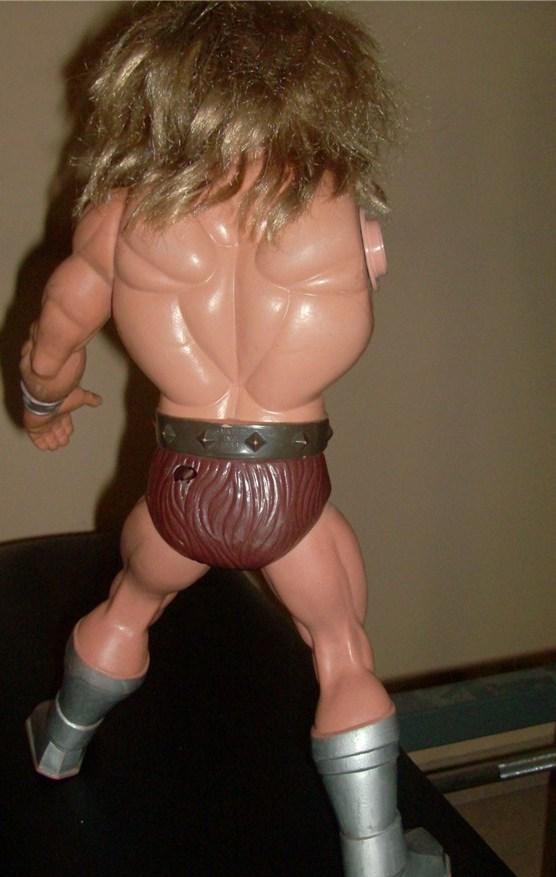 Masters Of The Universe Tytus no Megator Motu Mattel anni 80 loose Hpim5744