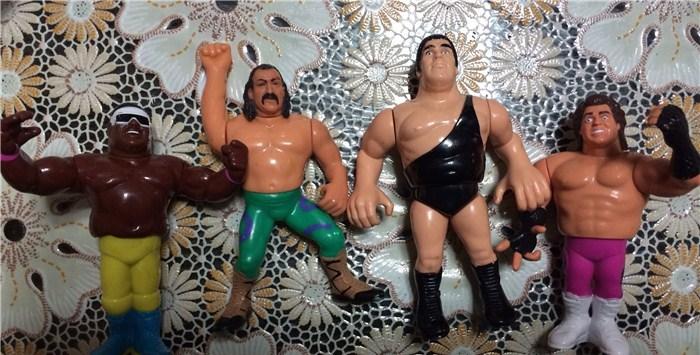 2 lotti Master of the Universe e WWW Wrestling tra cui il mitico Andre' the Giant tutti funzionanti ! Image13