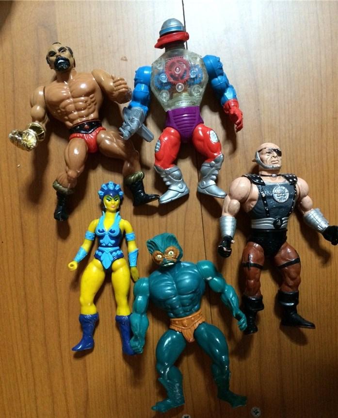 2 lotti Master of the Universe e WWW Wrestling tra cui il mitico Andre' the Giant tutti funzionanti ! Image_10
