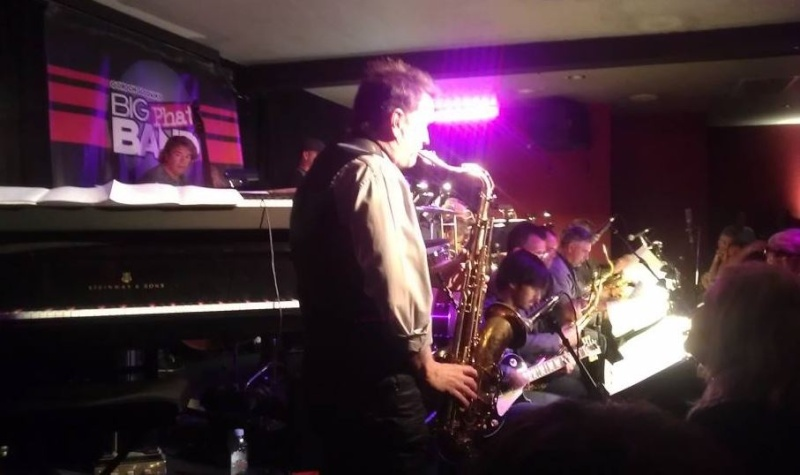 A night with Gordon Goodwin's Bit Phat (Jazz) Band in Los Angeles Vitell10