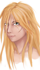 Adolescente avec cicatrice sur le visage Avatar12