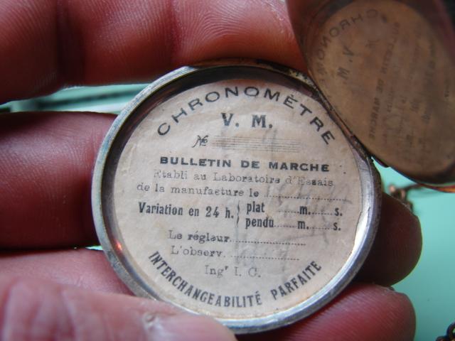 sur l'établit un chronomètre b.m très très malade  Dsc06451