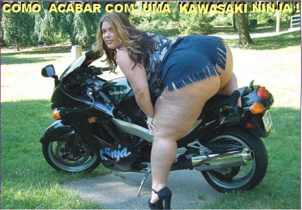 Como destruir uma Kawasaki Ninja Kawasa10
