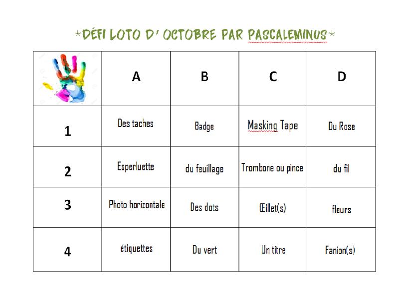 Loto d'Octobre Loto10