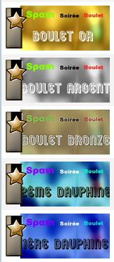 "Le Monde du  ""Boulet d'Or"" /  The World ""Gold Award"" Recomp10"