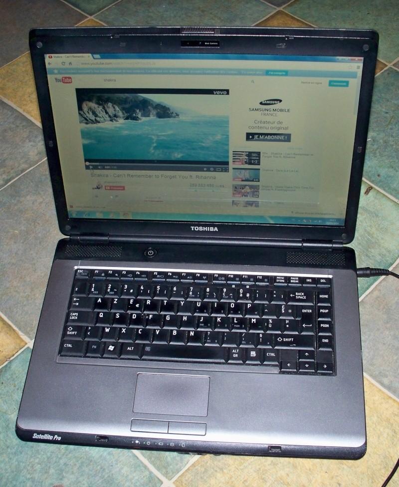 Un PC portable pour venir sur V2 Honda ? LoL Toshib10