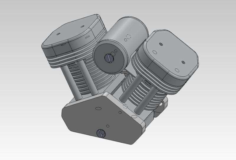 Création d'un faux moteur - Déco pour modèle réduit Faux_m10