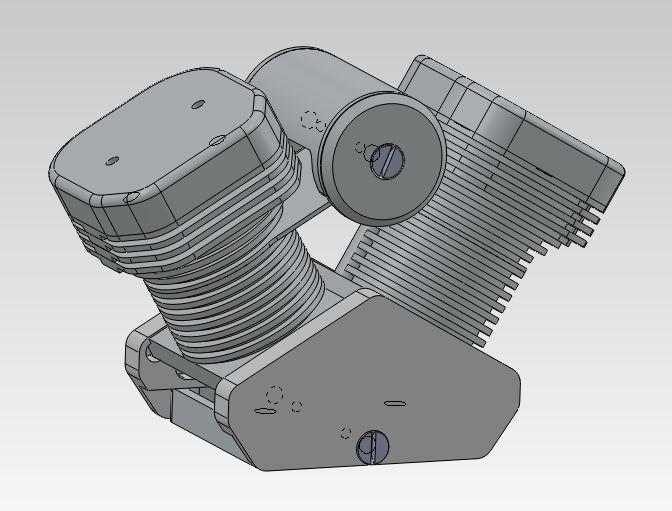 Création d'un faux moteur - Déco pour modèle réduit Faux_m11