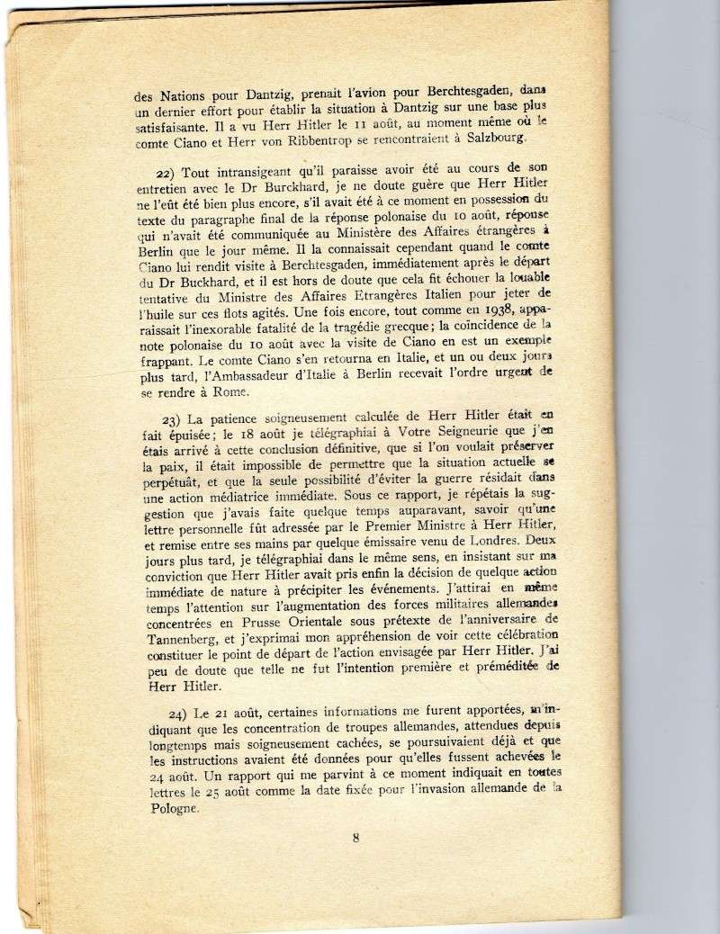 Rapport definitif de Sir NEVILLE HENDERSON. Img13010