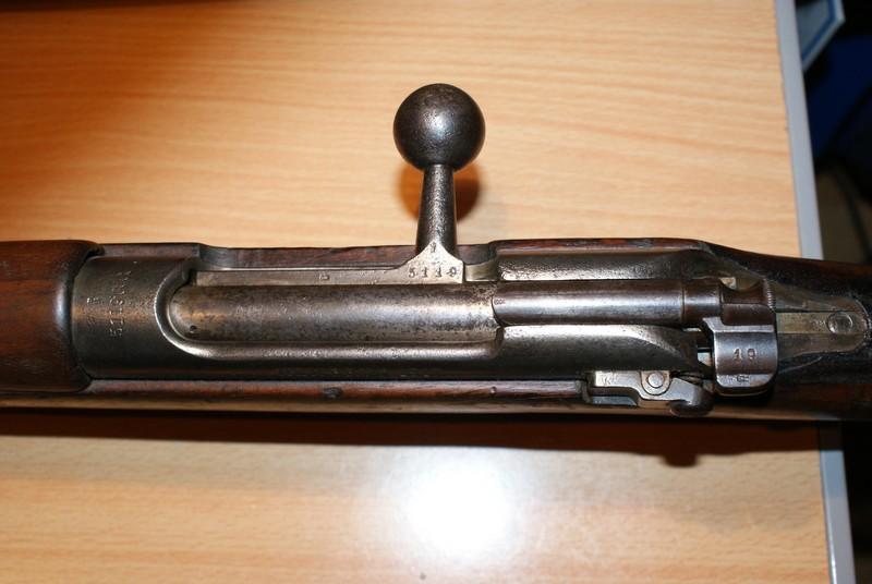 Mannlicher M95 Dutch - Munitions Dsc08947