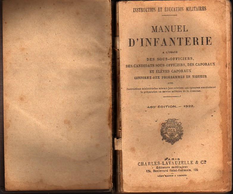 Manuel d'Infanterie 1922 Manuel10