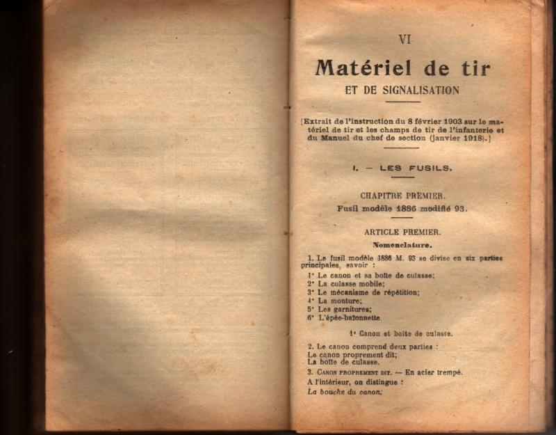 Manuel d'Infanterie 1922 Matari10