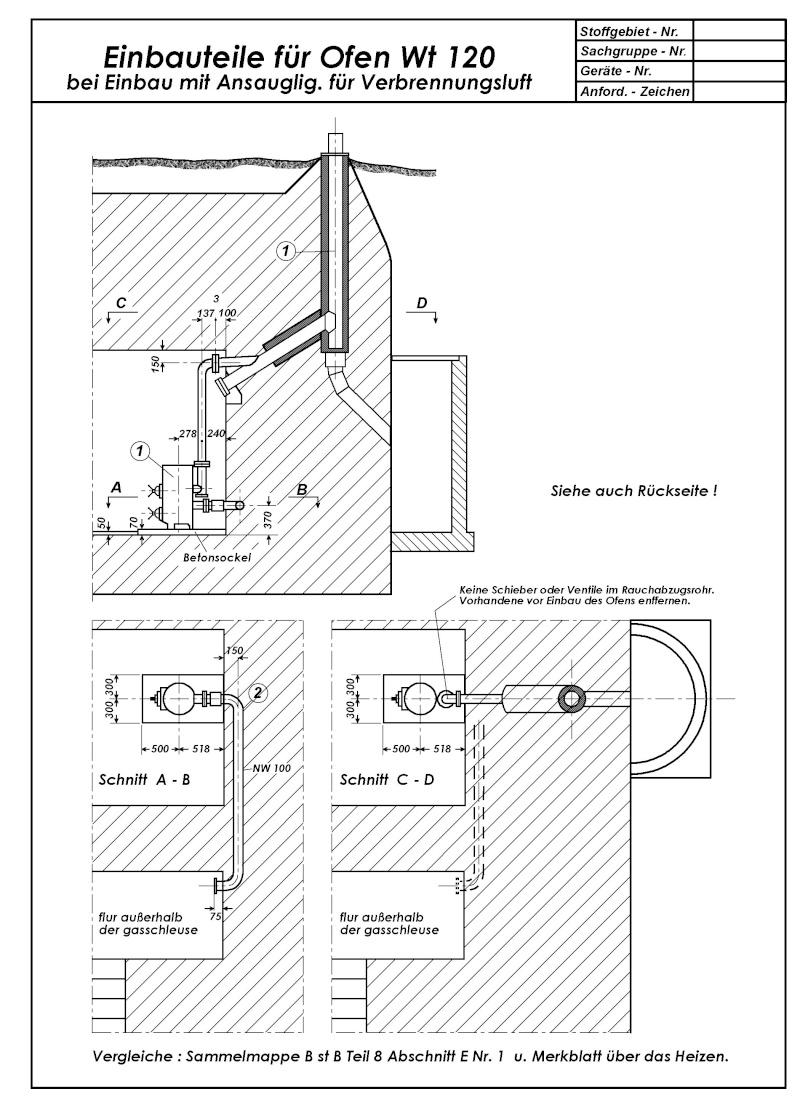 Système cheminée anti-grenades Wt120-10