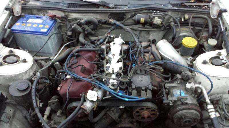 """NISSAN 300ZX 3.0L V6 TURBO de 1988 """"l'imprévu"""" 20131223"""