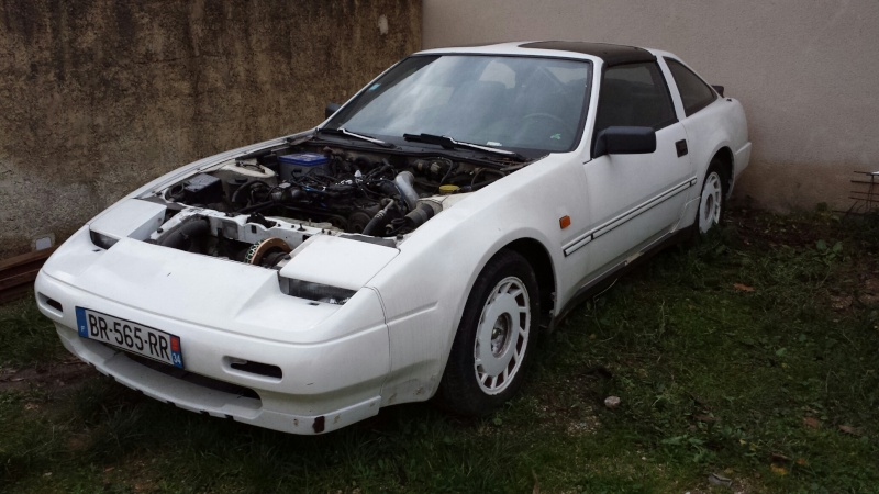 """NISSAN 300ZX 3.0L V6 TURBO de 1988 """"l'imprévu"""" 20131224"""