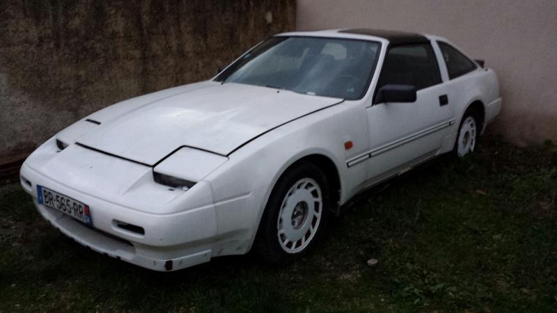 """NISSAN 300ZX 3.0L V6 TURBO de 1988 """"l'imprévu"""" 20131225"""