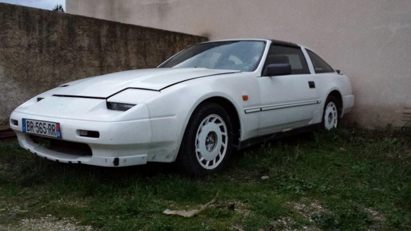 """NISSAN 300ZX 3.0L V6 TURBO de 1988 """"l'imprévu"""" 20131226"""