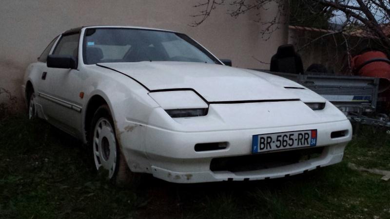"""NISSAN 300ZX 3.0L V6 TURBO de 1988 """"l'imprévu"""" 20131227"""