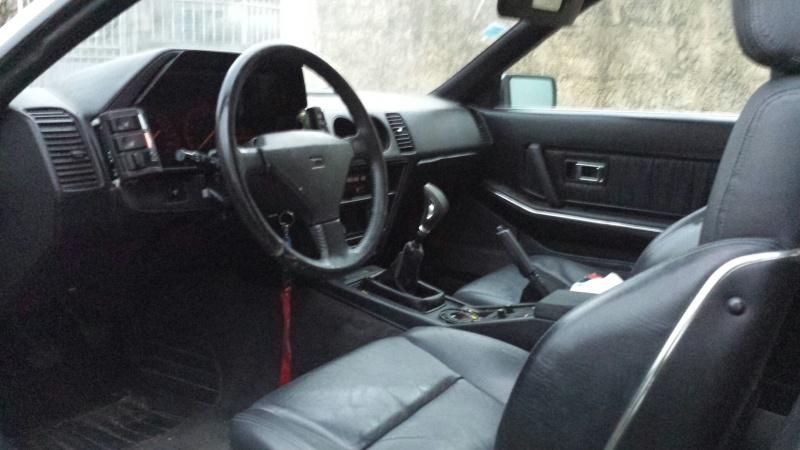 """NISSAN 300ZX 3.0L V6 TURBO de 1988 """"l'imprévu"""" 20131229"""