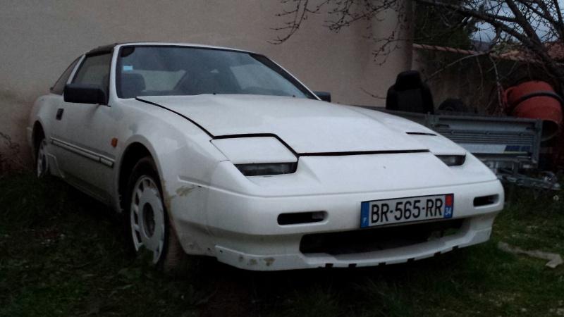 """NISSAN 300ZX 3.0L V6 TURBO de 1988 """"l'imprévu"""" 20131233"""