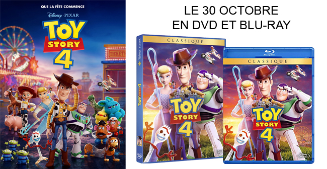 Tentez de gagner un DVD et un BLU-RAY de Toy Story 4 Ban65264