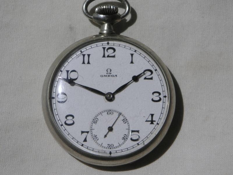 Les plus belles montres de gousset des membres du forum - Page 3 Omega111