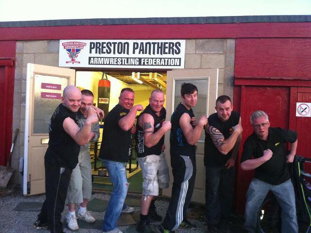 preston panthers armwrestling club Eric10