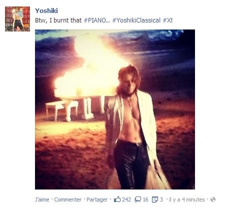 Yoshiki tourne un clip ... ou deux Yoshik13