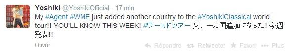 Yoshiki en tournée solo en 2014 - Page 3 Yoshik15